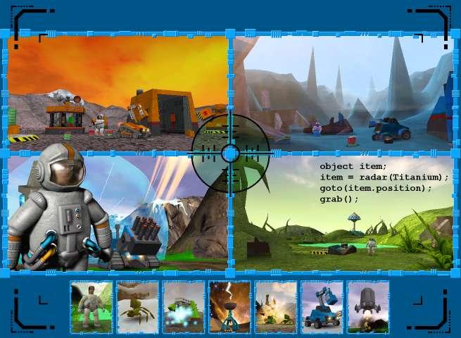 Initiation à la programation via le Sérious Game 3D Colobot. @ Fablab LABSUD
